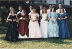 1987 Prom in Wade and Wyatt Pettingills' yard!