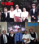 Back in 1988 we were making a short film and took a cast photo. In 2005 Mike Pennington got married in Houston, TX and t
